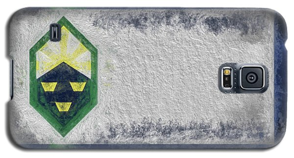 Galaxy S5 Case featuring the digital art Colorado Springs City Flag by JC Findley