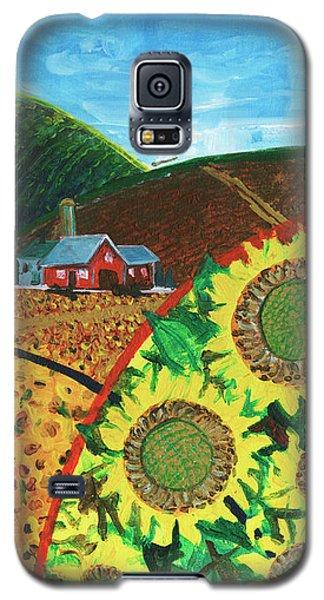 Colorado Sunflowers Galaxy S5 Case