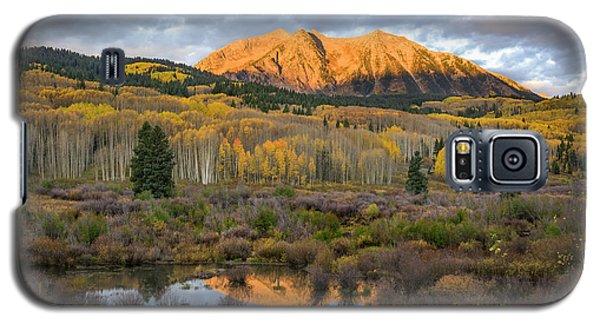 Colorado Sunrise Galaxy S5 Case by Phyllis Peterson