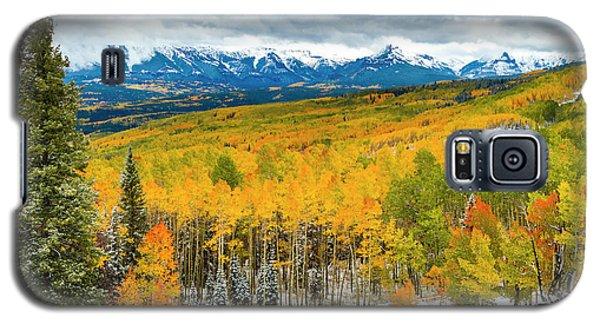 Colorado Valley Of Autumn Color Galaxy S5 Case