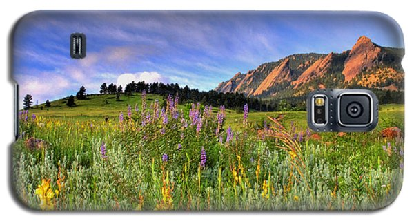 Landscapes Galaxy S5 Case - Colorado Wildflowers by Scott Mahon