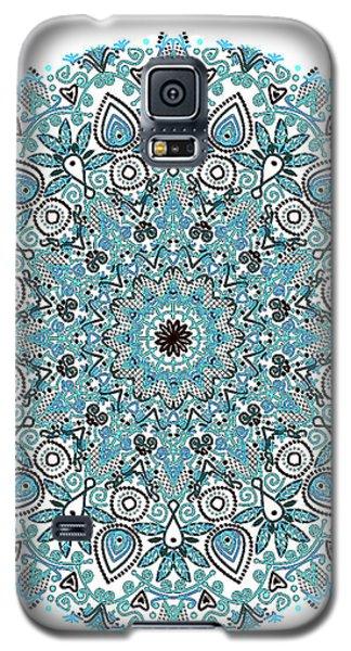 colorDrawMandalalesson Galaxy S5 Case