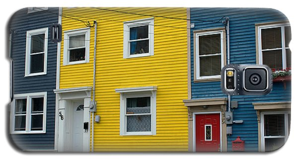Colored Houses Galaxy S5 Case by Douglas Pike