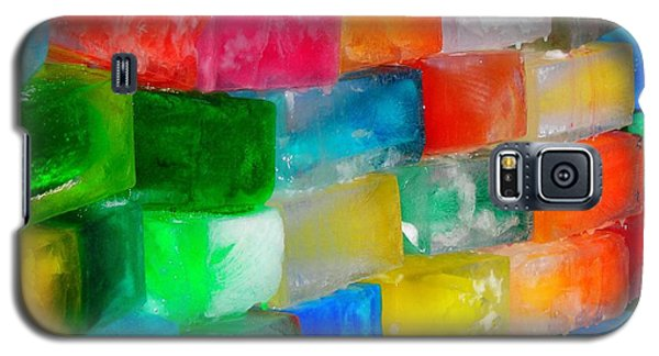 Colored Ice Bricks Galaxy S5 Case
