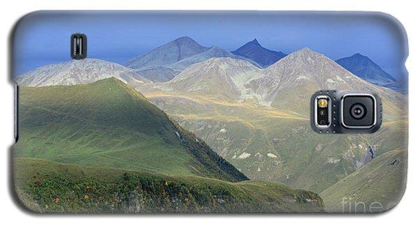 Colored Peaks Of The Caucasus Galaxy S5 Case