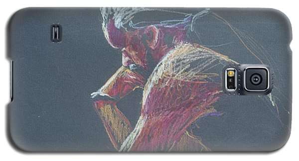 Colored Pencil Sketch Galaxy S5 Case