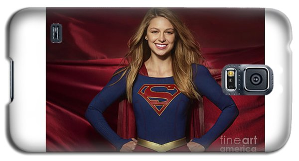Colored Pencil Study Of Supergirl - Melissa Benoist Galaxy S5 Case