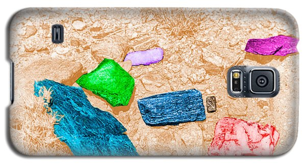 Colored Rocks 1 Galaxy S5 Case