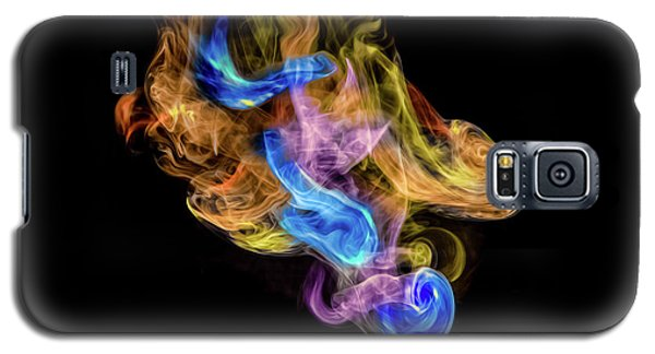 Galaxy S5 Case featuring the photograph Colored Vapors by Rikk Flohr
