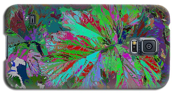 Colorfication - Leafy Colored Galaxy S5 Case