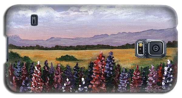 Galaxy S5 Case featuring the painting Colorful Afternoon by Anastasiya Malakhova