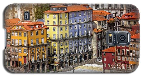 Colorful Architecture Of Ribeira Porto  Galaxy S5 Case