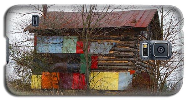 Colorful Barn Galaxy S5 Case by Kathryn Meyer