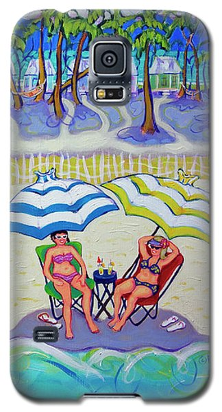 Colorful Beach Hideaway Galaxy S5 Case