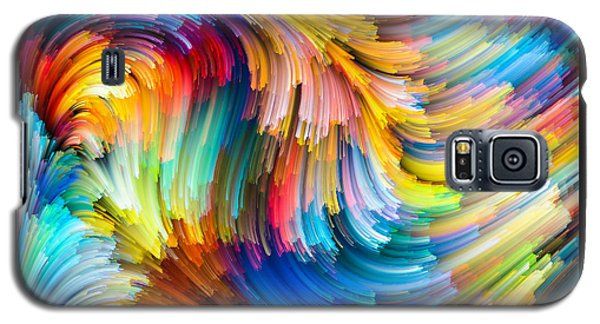 Colorful Beauty Galaxy S5 Case by Karen Showell