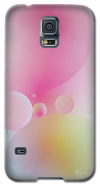 Galaxy S5 Case featuring the photograph Colorful Bubbles by Elena Nosyreva