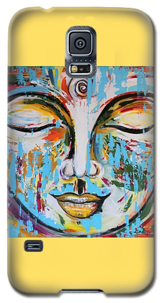 Colorful Buddha Galaxy S5 Case by Theresa Marie Johnson
