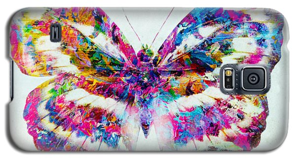 Colorful Butterfly Art Galaxy S5 Case by Olga Hamilton
