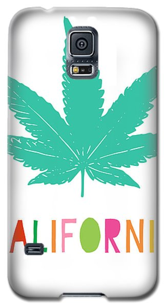 Colorful California Cannabis- Art By Linda Woods Galaxy S5 Case