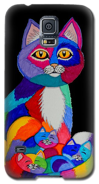 Colorful Cats And Kittens Galaxy S5 Case