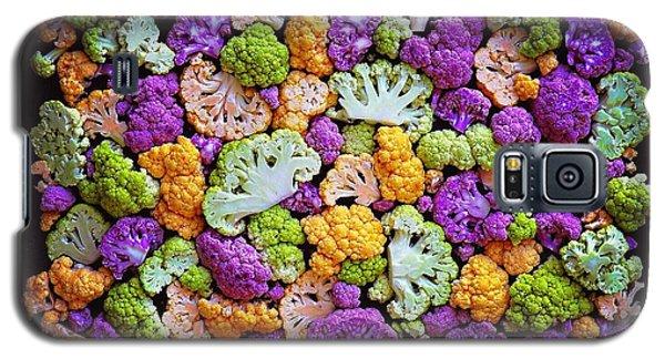 Colorful Cauliflower Mosaic Galaxy S5 Case
