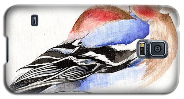 Colorful Chaffinch Galaxy S5 Case