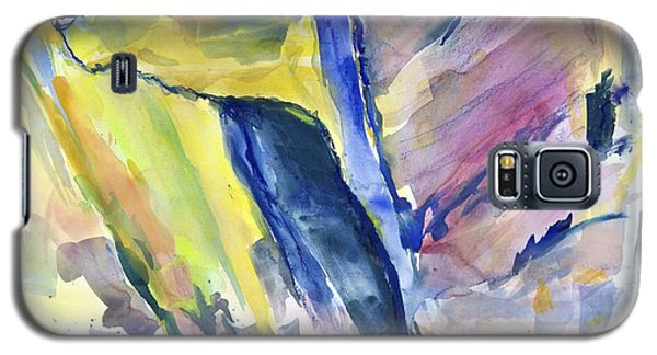 Colorful Cliffs And Cave Galaxy S5 Case