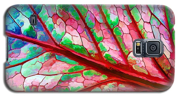 Colorful Coleus Abstract 5 Galaxy S5 Case by ABeautifulSky Photography