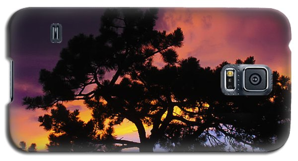 Colorful Colorado Sunset Galaxy S5 Case