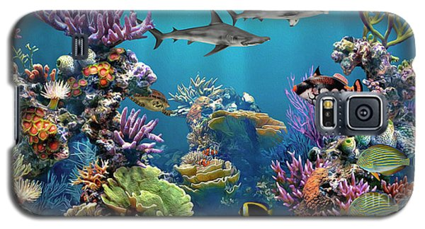 Colorful Coral Reef Galaxy S5 Case