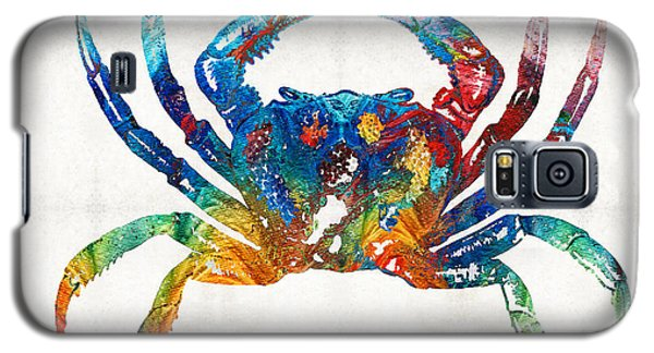 Colorful Crab Art By Sharon Cummings Galaxy S5 Case