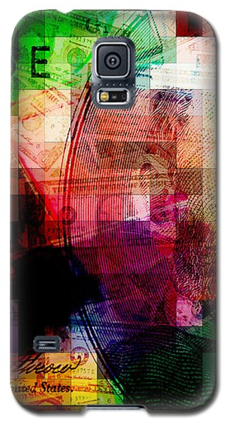 Galaxy S5 Case featuring the photograph Colorful Currency Collage by Phil Perkins