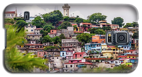Colorful Houses On The Hill Galaxy S5 Case