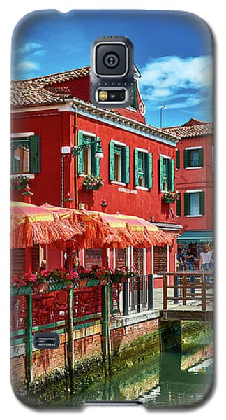 Colorful Day In Burano Galaxy S5 Case