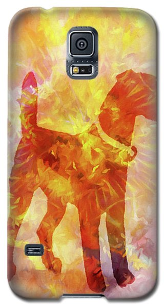 Colorful Dog Galaxy S5 Case