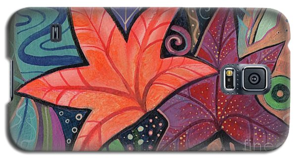 Colorful Fall Galaxy S5 Case