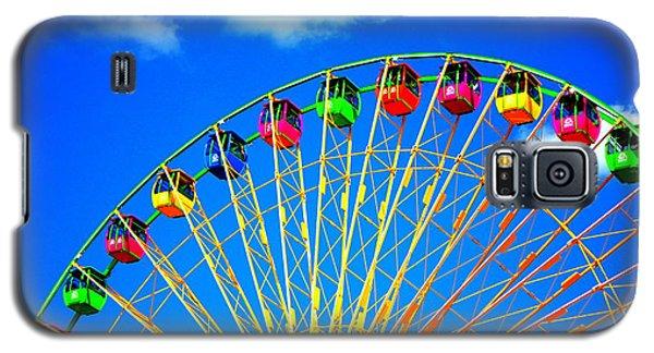 Colorful Ferris Wheel Galaxy S5 Case