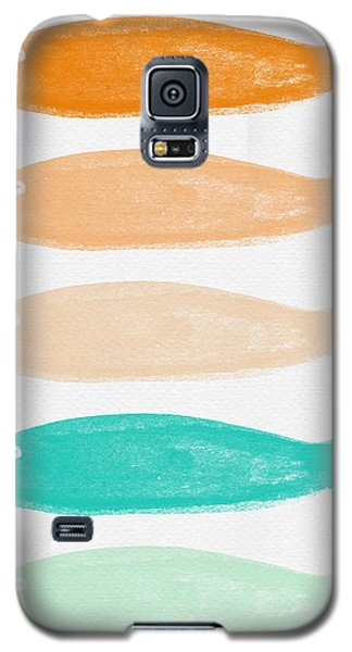 Colorful Fish Galaxy S5 Case by Linda Woods