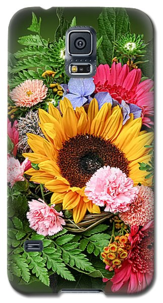 Colorful Flower Arrangement Galaxy S5 Case
