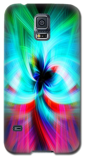 Colorful Flower Galaxy S5 Case by Cherie Duran