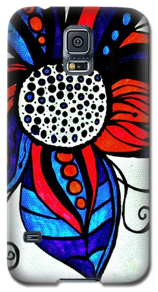 Colorful Flower Galaxy S5 Case