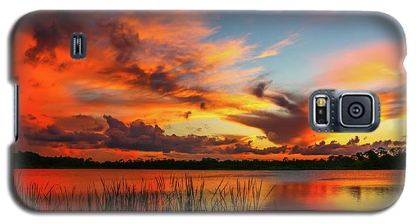 Colorful Fort Pierce Sunset Galaxy S5 Case