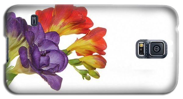 Colorful Freesias Galaxy S5 Case