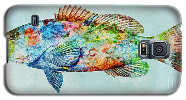 Colorful Gag Grouper Art Galaxy S5 Case