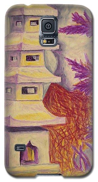 Colorful Garden Galaxy S5 Case by Jean Haynes