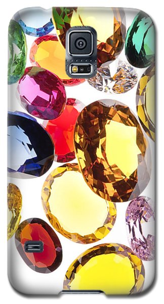 Colorful Gems Galaxy S5 Case