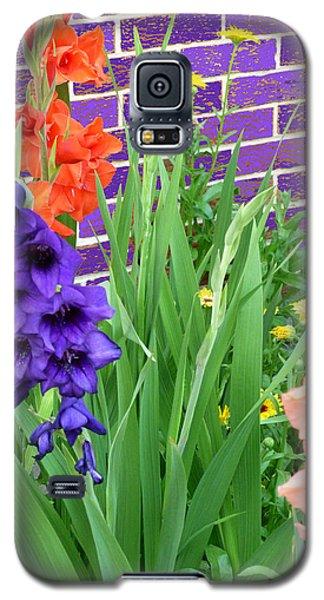 Colorful Gladiolas Galaxy S5 Case