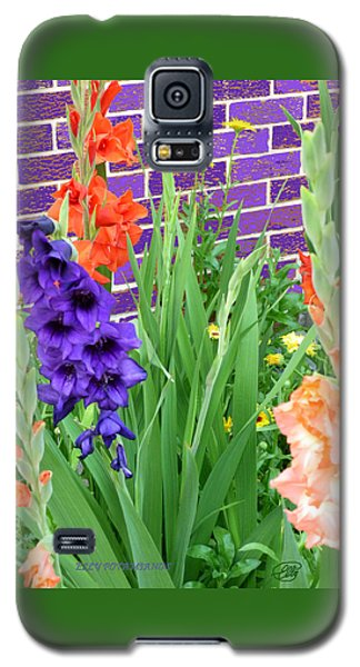 Colorful Gladiolas Galaxy S5 Case