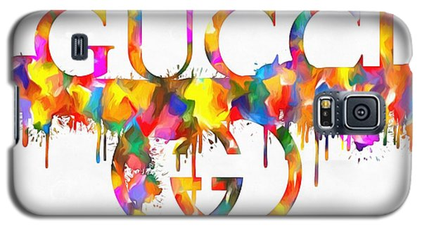 Colorful Gucci Paint Splatter Galaxy S5 Case