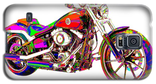 Colorful Harley-davidson Breakout Galaxy S5 Case